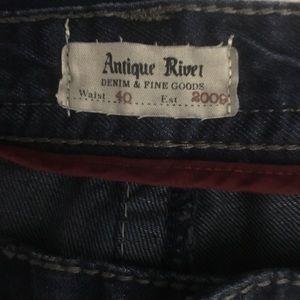 Antique Rivet Jeans - Buckle Antique Rivet Jeans
